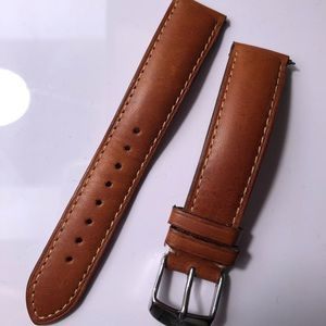 Michele Leather Watch Straps